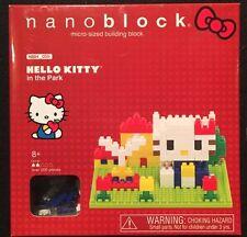 NanoBlock Hello Kitty In The Park 200+ Pcs New 2013
