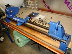 Record DML24 Woodturning Lathe with Two Chucks & Accessories