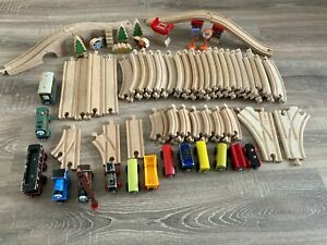 Thomas & Friends Wooden Brio Track Bundle Train Engine Railway Set Kids Toy