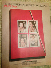 INDEPENDENT MAGAZINE SEPT 2015 DIANA VREELAND PHOTO COVER SPECIAL ISSUE