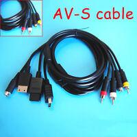 AV-S Video Audio Kabel für Sega Saturn SS DC PS1 PS2 SNES N64 NGC SFC Konsole