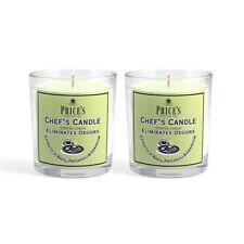 Price/'s velas-Conjunto de 3 Velas De Tarro De Chef ventana abierta Citronela Tealights