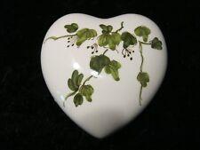 Porcelana Bote / Envase Corazón / Caja con Tapa
