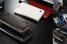 Luxury Magnetic Flip Wallet Book Style PU Leather Stand Case Cover For Phone