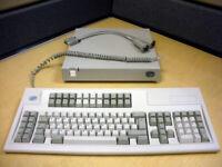 IBM InfoWindow II 3488-V Twinax Terminal Base, T-conn, 122 Keyboard (No Monitor)