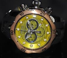 Invicta Rare 6715 Men's Swiss Reserve Venom Chrono Yellow Dial Silicone Watch