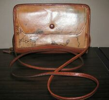 VINTAGE DAY-TIMER U.S.A. SOLUTIONS FOR SUCCESS LEATHER ORGANIZER HANDBAG_PURSE