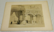 1850 Antique Print/SCREEN IN ST. PETR CATHEDRAL, LOUVAIN, BELGIUM/14x21""