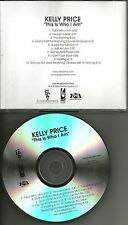 KELLY PRICE w/ VANESSA BELL ARMSTRONG This is who I am ADVNCE PROMO DJ CD 2006