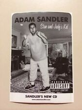 "Adam Sandler ""Stan And Judy's Kid"" Black & White Sticker 3.5"" x 5"""