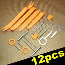 12 Car Door Plastic Trim Panel Dash Center Console Installation Remover Tool Set