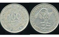 ETATS DE L'AFRIQUE DE L'OUEST  100 francs  1968   ( bis )