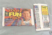 1997 FATTY FOOTY FUN RUGBY LEAGUE CARD WRAPPER