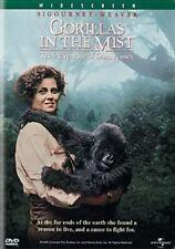 Gorillas in The Mist 0025192042126 With Sigourney Weaver DVD Region 1