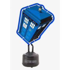 Lámpara de neón de interior de color principal azul