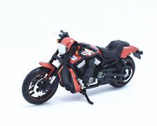 Maisto Modèle Réduit de Moto Harley Davidson 2012 VRSCDX Night Rod Orange 1/18