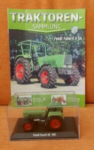 Traktoren Sammlung Hachette 1:43 m. Zeitung neuwertig Nr. 45 Fendt Favorit 4 SA