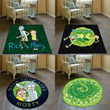Rick And Morty Velboa Floor Rug Carpet Room Bedroom Kitchen Non-slip Door Mats