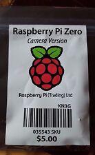 RASPBERRY PI ZERO - CAMERA VERSION 1.3 - BRAND NEW SEALED IN THE BOX