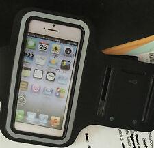 Fascia da Braccio Corsa Custodia per Iphone 4 s altri smartphone cellulari nera