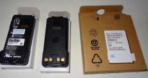 2x Unused Motorola NNTN8560A IMPRES Li-Ion Battery 7.4V 2500mAh Submersible IP67