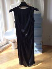 Kleid schwarz Seide Stefanel IT 40 DE 36