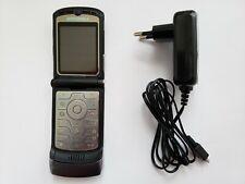 Motorola Razr V3 Grey Factory Unlocked cell phone flip vintage