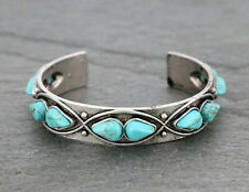NWT Western Natural Stone Turquoise Cuff Bracelet #6 - Turquoise Cuff Bracelet