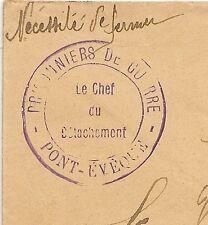PONT EVEQUE ISERE, PRISONNIERS DE GUERRE. LE CHEF DE DETACHEMENT.  L783