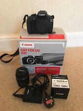 Canon EOS 1200D 12.0MP fotocamera reflex digitale Get Focus kit con 2 Lenti