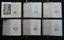 De la Philosophie de la Nature J. B. C. Delisle de Sales Londres 1789 6 Volumi