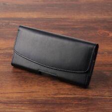 Clip de cinturón dividida cuero magnético funda titular bolsa para iPhone Samsung
