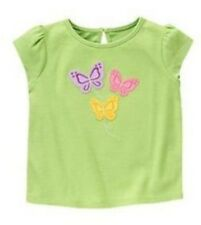 NWT Gymboree Butterfly Blossoms Green Butterflies Top Size 2T