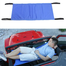 Blue Car Roof Waterproof Hammock Car Bed Rest for 1987-2017 Jeep Wrangler YJ TJ