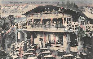 Düsseldorf Alpen-Restaurant Zillertal im Artushof gl1905 165.519