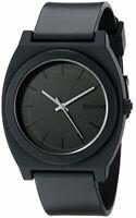 Nixon The Time Teller Black Dial Plastic Quartz Mens Watch A119-524