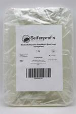 1 kg Seifenprofis Melt & Pour Gießseife transparent