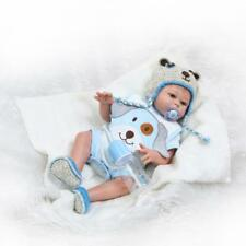 """Real Looking 20"""" 50cm Full Body Silicone Vinyl Reborn Baby Boy Doll Toddler"""