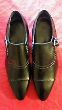 Men's Authentic Louis Vuitton Dress Shoes Size 10.5 Lord Loafer New Black Color