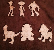 Wooden Toy Story characters Mdf Laser Cut Shape Blank