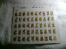UNITED STATES-(-1982-)-STATE BIRDS and FLOWERS-FULL Sheet -MNH-#2