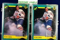 1991 Classic Hockey Draft Pick Set - Lot of 2 - Eric Lindros - Serial #'d Sealed