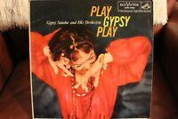 Gypsy Sandor & Orchestra Play Gypsy Play RCA LPM-1739 Cover VG Vinyl VG