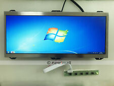 "VGA+DVI Controller Driver board kit With 12.3"" C123HAN01.0 LCD Screen 1920x720"