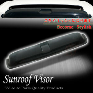 "Fit Chevrolet Moonroof Visor Sun Roof Shield Deflector 35"" Rooftop Window Vent"