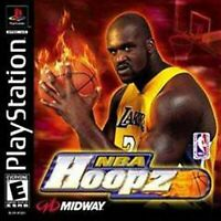 NBA Hoopz For PlayStation 1 PS1 Basketball 5E