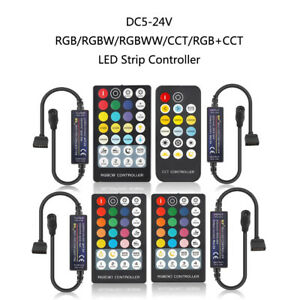 LED Streifen Regler für RGB/RGBW/RGBWW/CCT/RGB+CCT 4pin/5pin/6pin Band DC5-24V