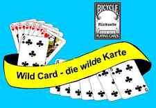 Wild Card - die wilde Karte - weltberühmter Kartentrick von Peter Kane  (20327)