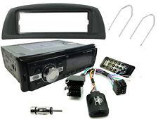 FIAT PUNTO 99-05 Car Stereo Head Unit Radio + Steering Controls + Bluetooth AUX