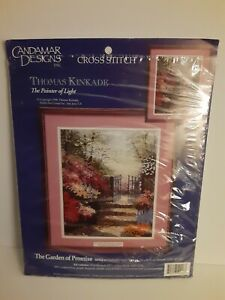 Thomas Kincade The Garden of Promise 50926 Counted Cross Stitch Kit
